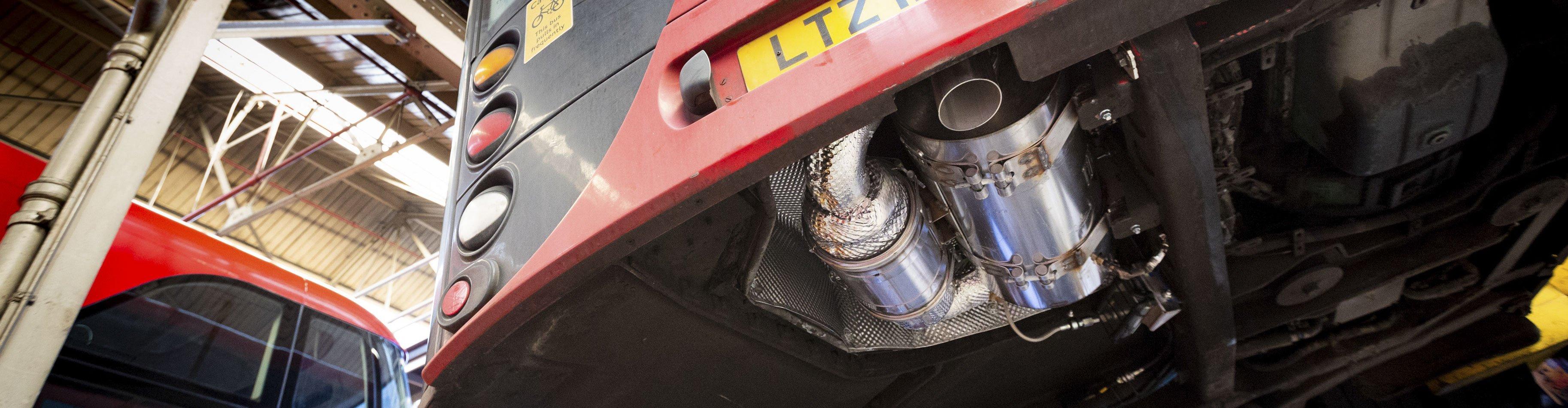 new ULEZ compliant exhaust