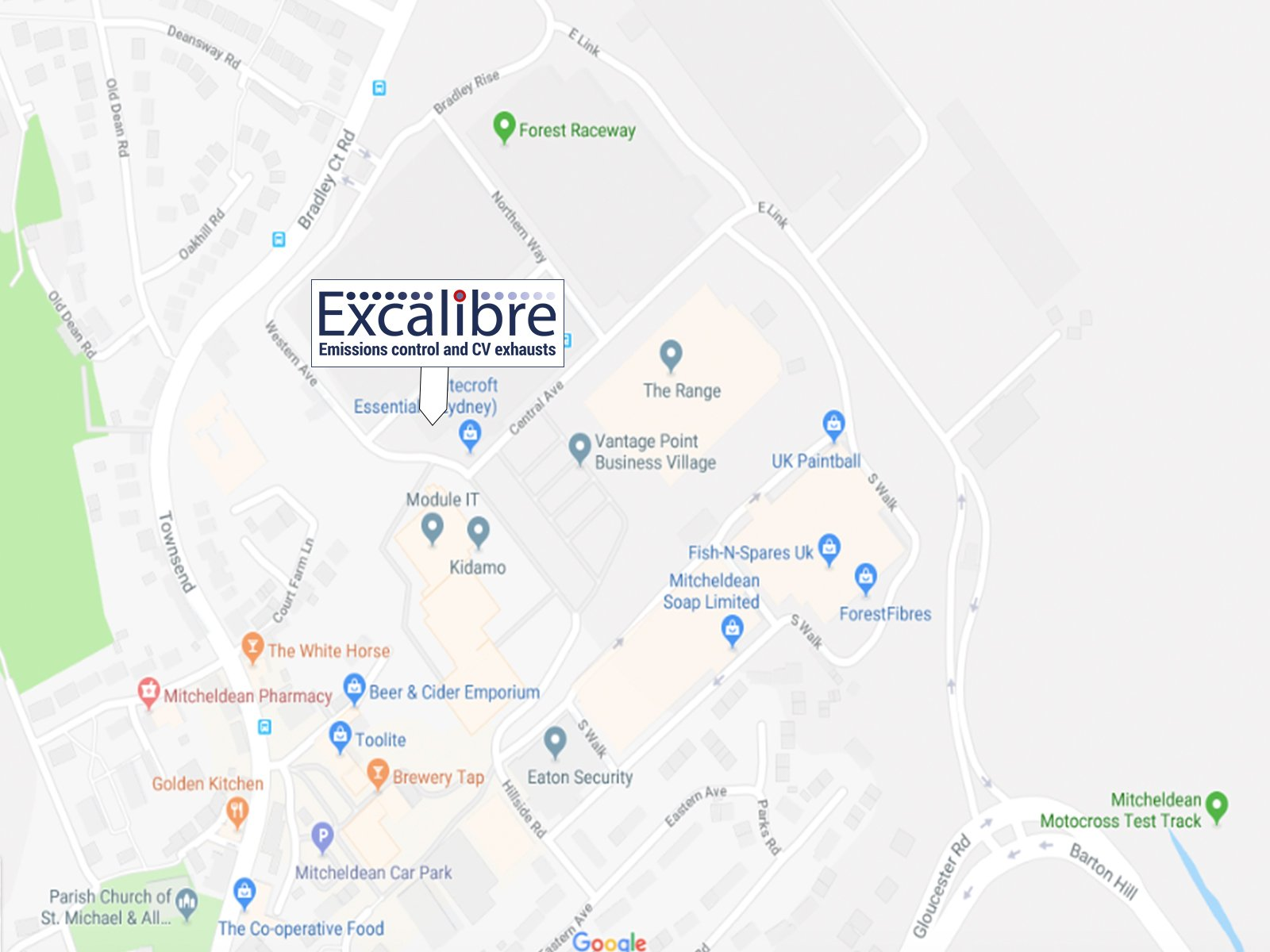 Where Excalibre are based