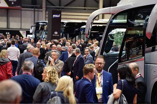 Showcasing our emission control systems at the Coach and Bus show 2019